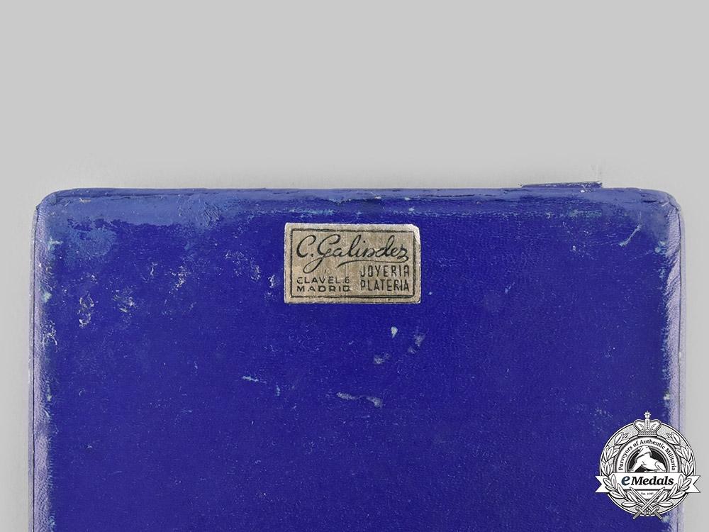 Spain, Facist State. A Cigarette Case of Francisco Franco, c.1950
