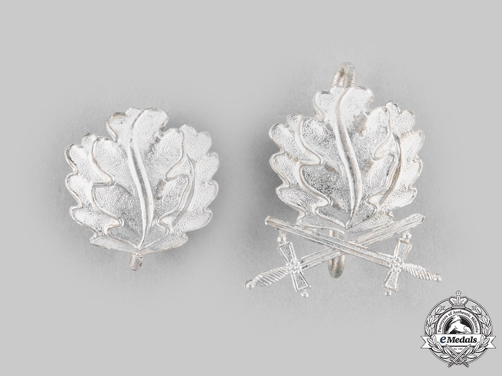 Germany, Federal Republic. A Pair of Oak Leaf Clasps to the Knight's Cross, 1957 Version