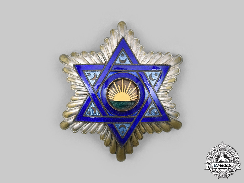 Morocco. An Order of Medhi, Breast Star, c. 1940