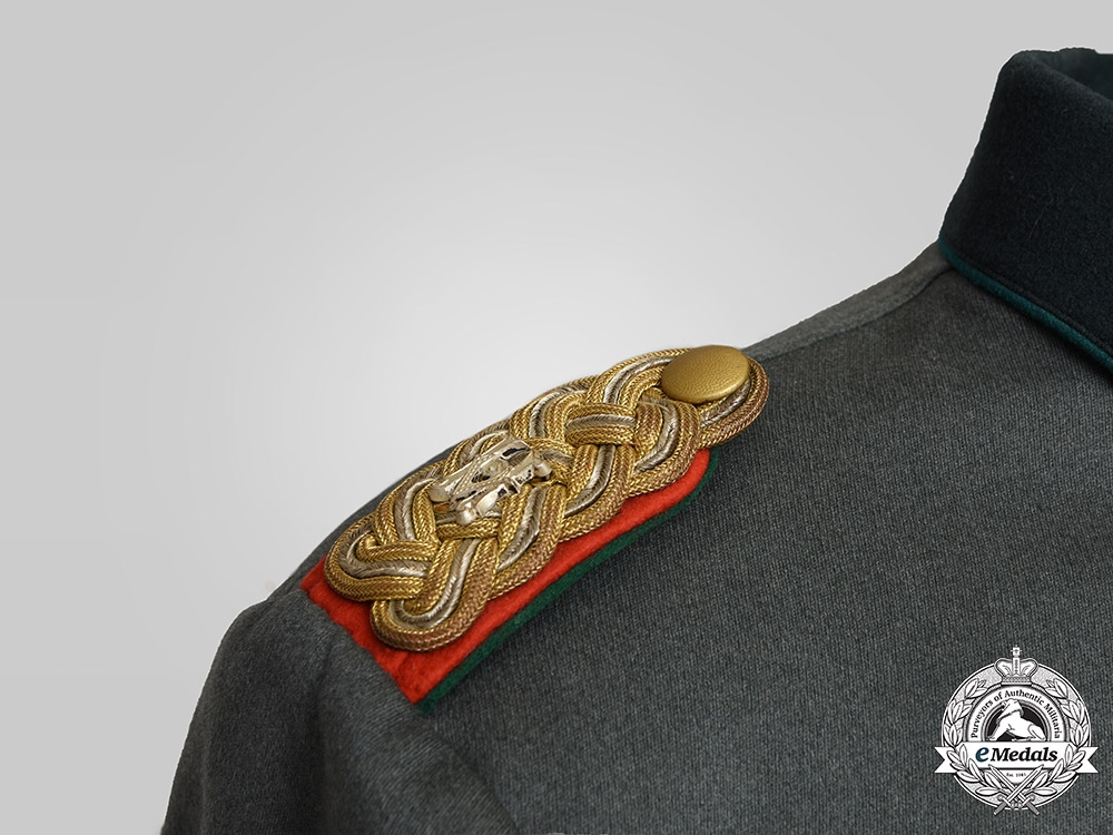 Germany, Heer. A Named Heeresverwaltung Korpsintendant Dress Tunic, by Walther Stollmann