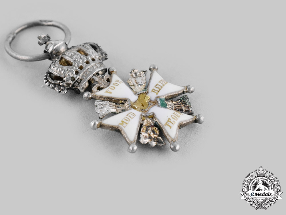 Netherlands, Kingdom. A Military Order of William, Miniature, c.1875