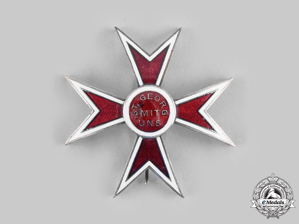 Austria, Empire. A Knightly Order of St. George, Breast Star