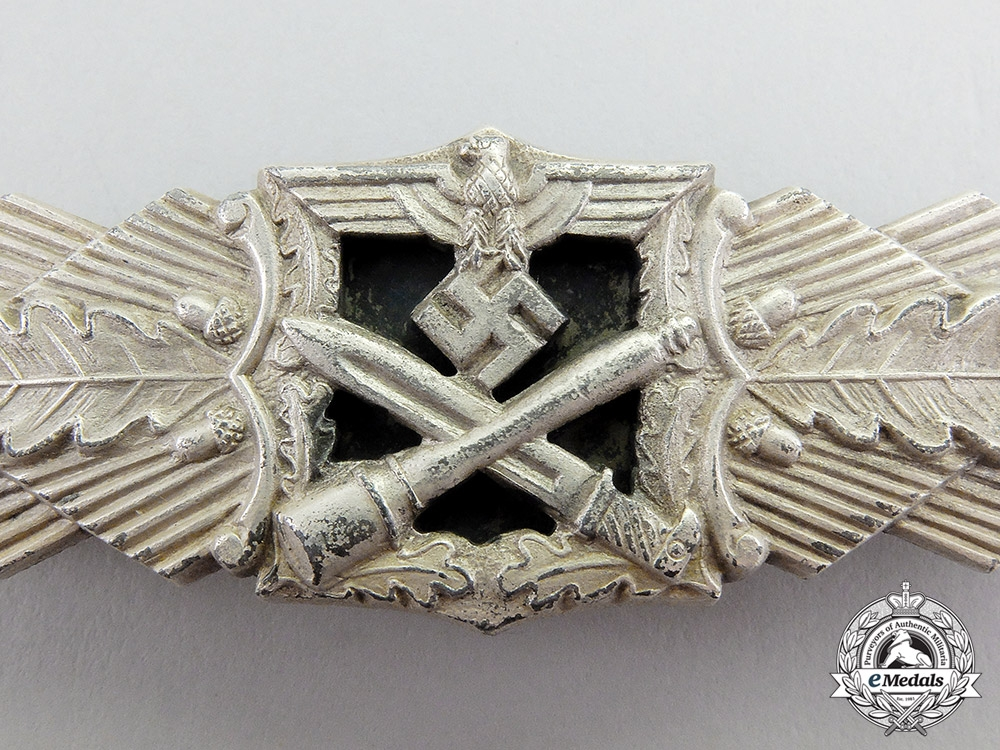 Germany. A Silver Grade Combat Clasp by Josef Feix & Söhne