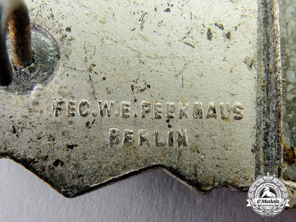 Germany. A Silver Grade Combat Clasp by Friedrich Linden of Lüdenscheid