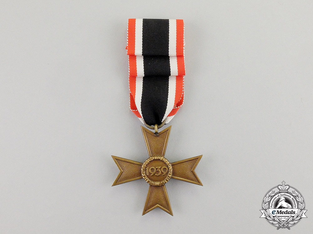Germany. An Unissued Third Reich Period War Merit Cross Second Class without Swords by Deschler