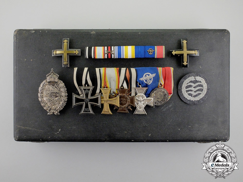 Germany. A Collection of Career Medals and Awards of a First & Second War German Pilot