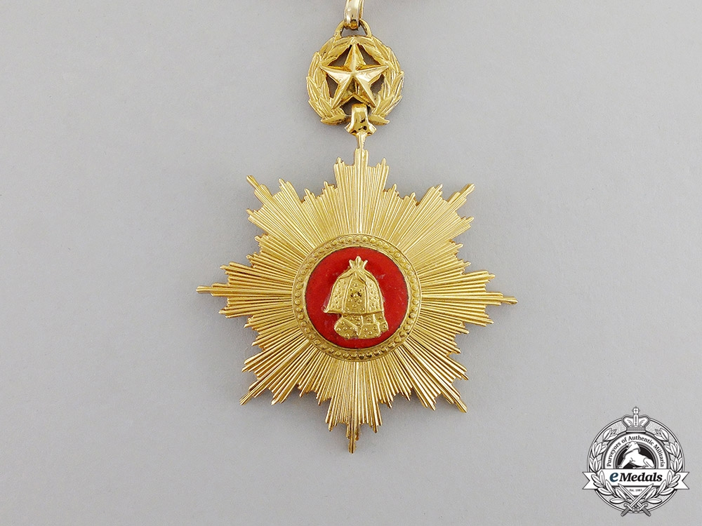 Korea. An Order of Military Merit, 2nd Class Set, Type II, c.1970