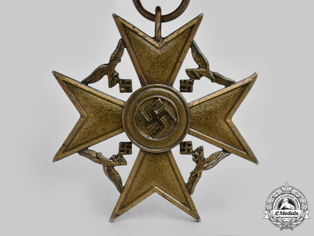 Germany, Wehrmaht. A Rare Spanish Cross for Next of Kin