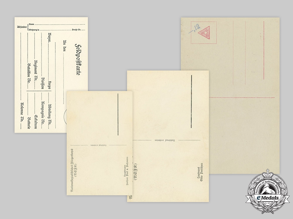Germany, Imperial. A Lot of Wartime Postcards