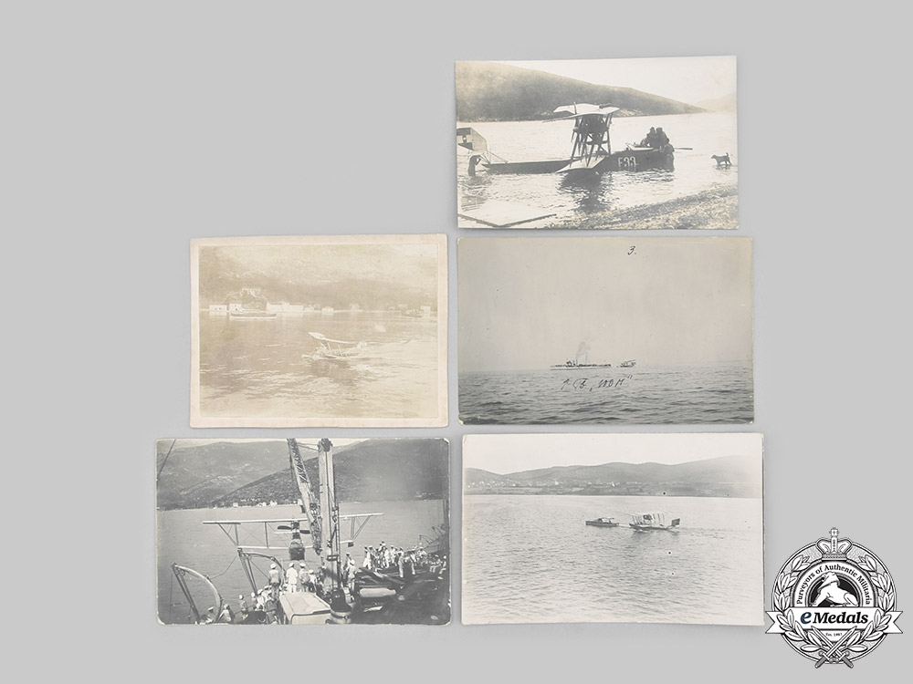 Austria-Hungary, Empire. A Lot of Wartime Photos of Flying Boats