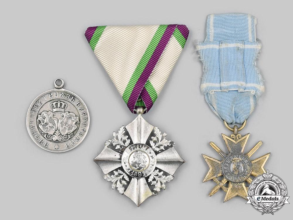 Bulgaria, Kingdom: A Lot of Three Awards