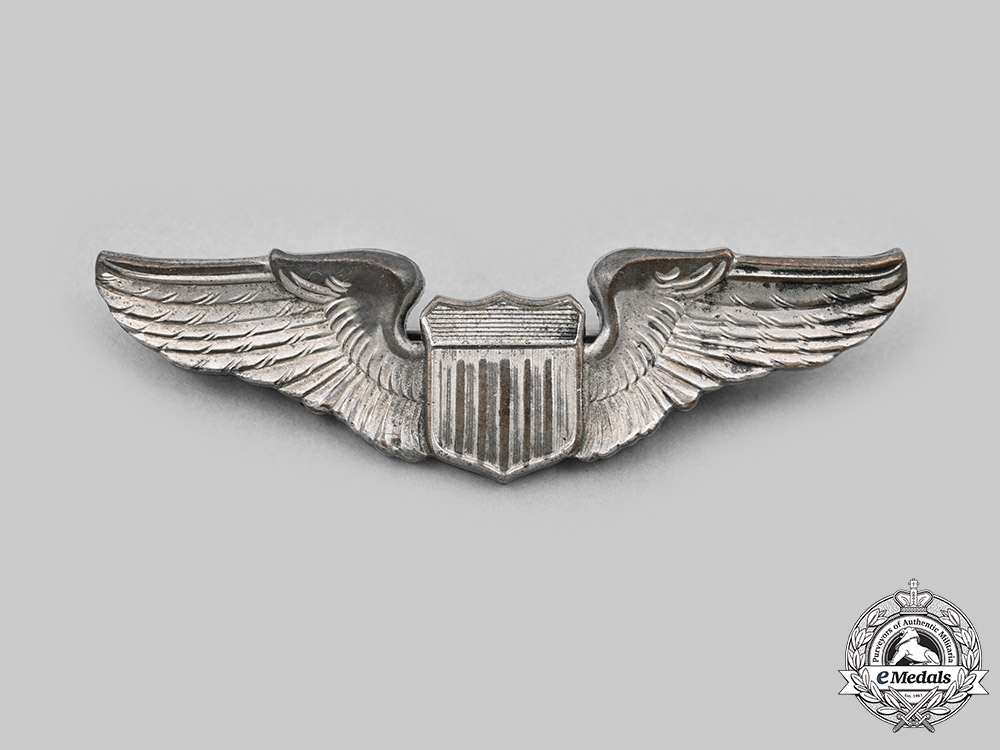 United States. A Vietnam War Era Army Air Force (USAAF) Pilot Dress Wings c.1970