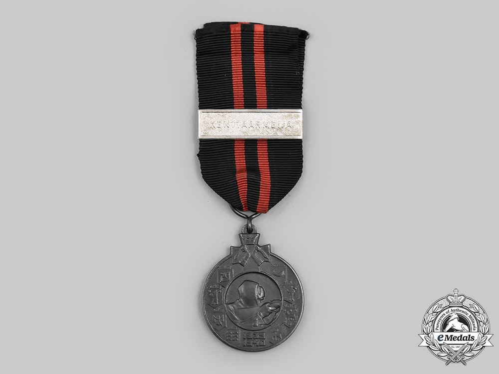 Finland, Republic. Winter War 1939-1940 Medal, KENTTÄARMEIJA