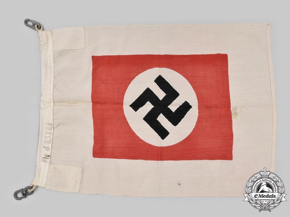 Germany, Kriegsmarine. A Rare Harbour Pilot's Flag