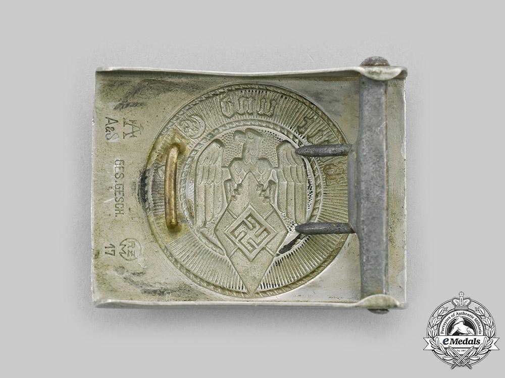 Germany, HJ. A HJ Member's Belt Buckle, by F.W. Assmann & Söhne