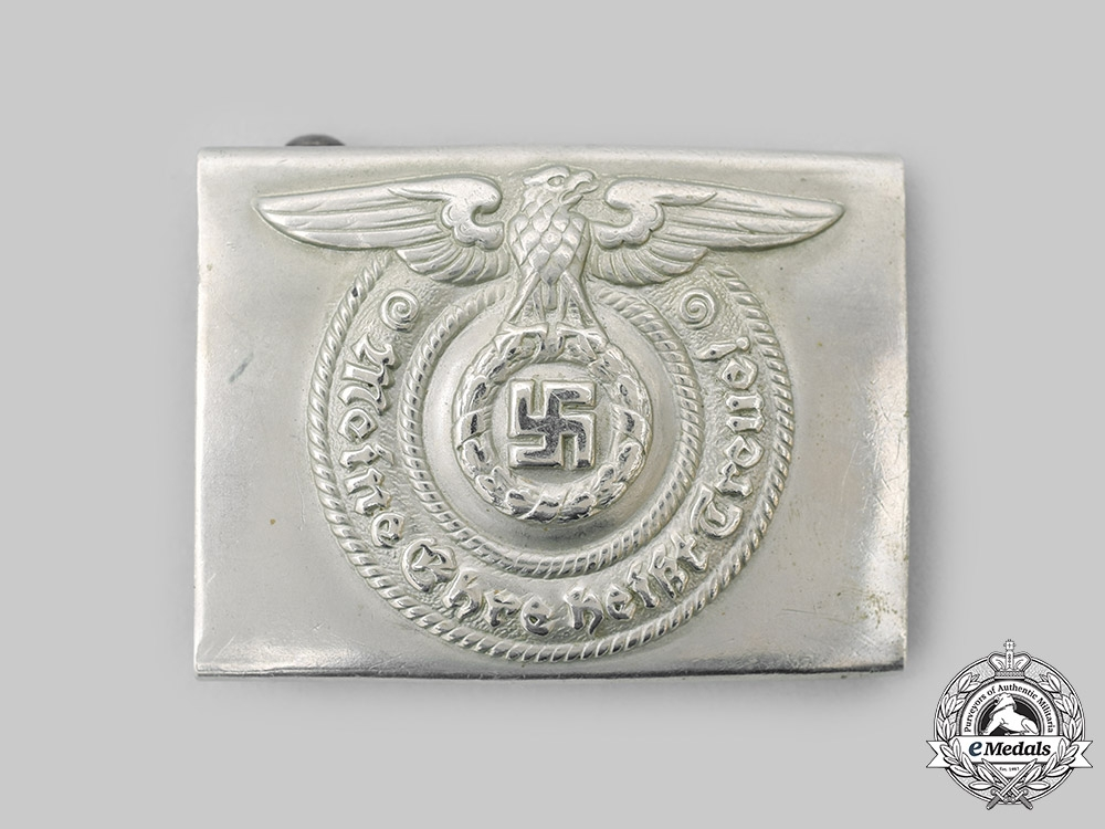Germany, SS. A SS EM/NCO's Belt Buckle, by Overhoff & Cie