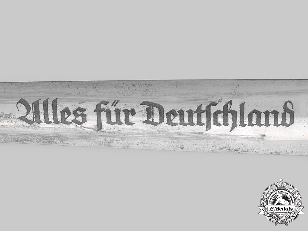 Germany, SA. A Model 1933 Sturmabteilung Dagger, by H. & F. Lauterjung
