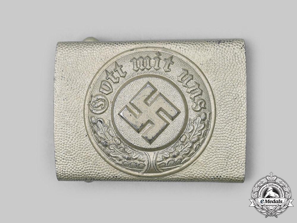 Germany, Ordnungspolizei. An Ordnungspolizei EM/NCO's Belt Buckle