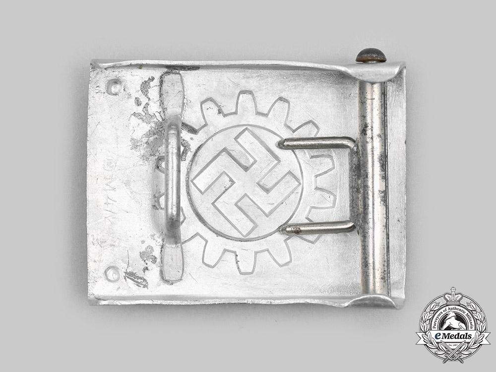 Germany, DAF. A German Labour Front Enlisted Personnel Belt Buckle