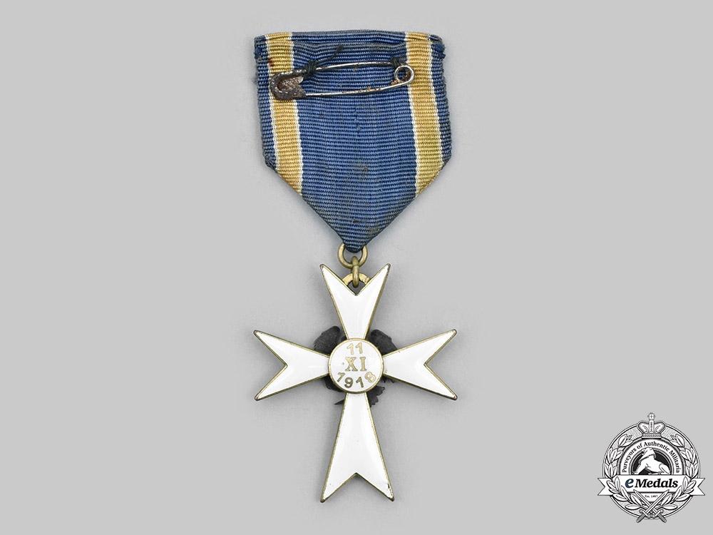 Estonia, Republic. A White Cross of the Home Guard, III Class, c.1935