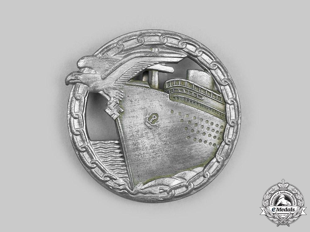 Germany, Kriegsmarine. A Blockade Runner Badge, by B.H. Mayer