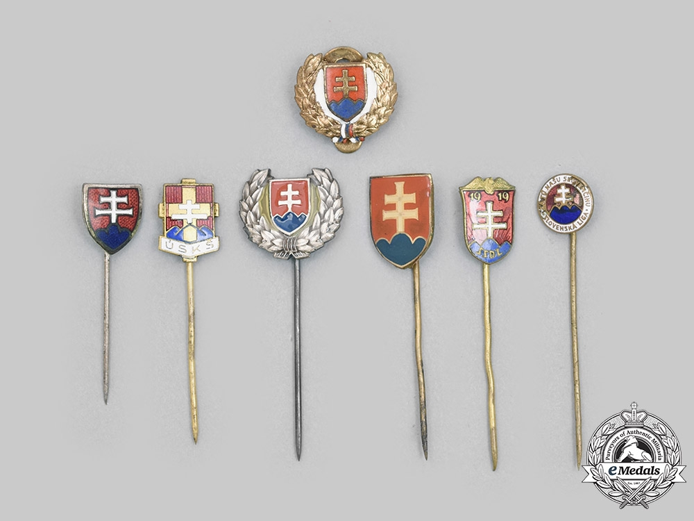 Slovakia, I Republic. A Lot of Stick Pins