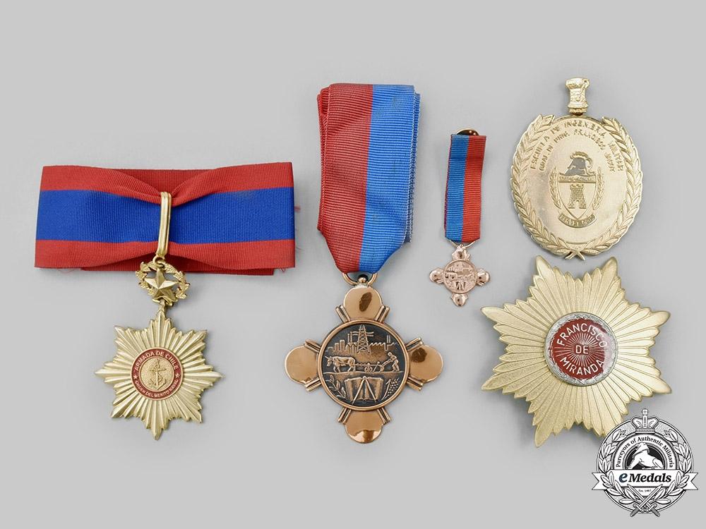 Venezuela, Bolivarian Republic; Chile, Republic. Four Awards