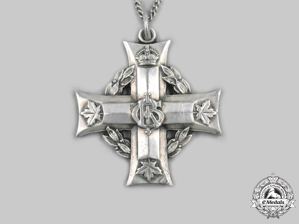 Canada, CEF. A Memorial Cross, Sniper Robert Neville, 1917
