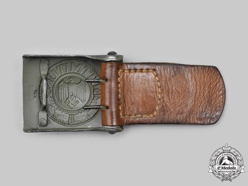 Germany, Heer. A Heer EM/NCO's Belt Buckle, by Josef Feix Söhne
