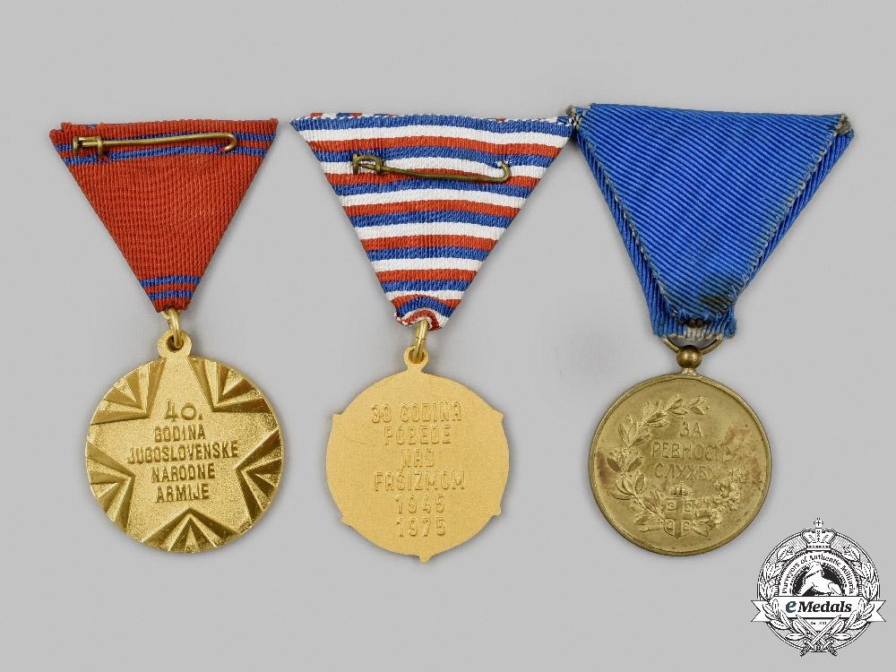 Serbia, Kingdom; Yugoslavia, Socialist Federal Republic. A Lot of Three Awards