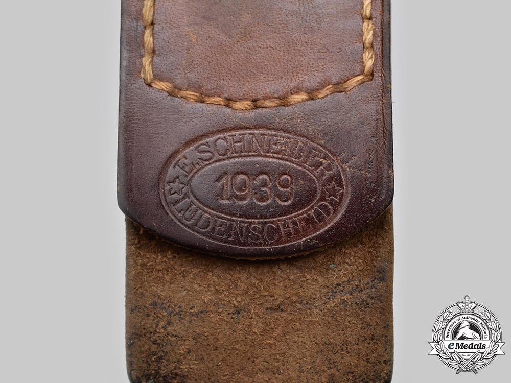 Germany, Heer. A Heer EM/NCO's Belt Buckle, by Ernst Schneider