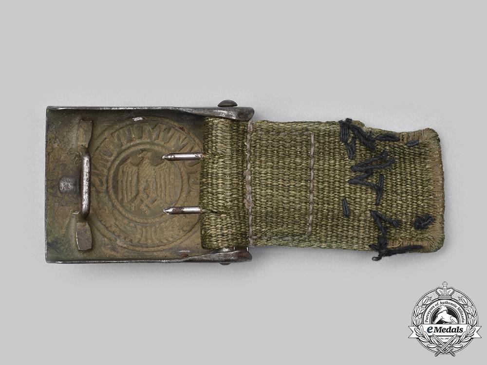 Germany, Heer. A Heer EM/NCO's Tropical Belt Buckle