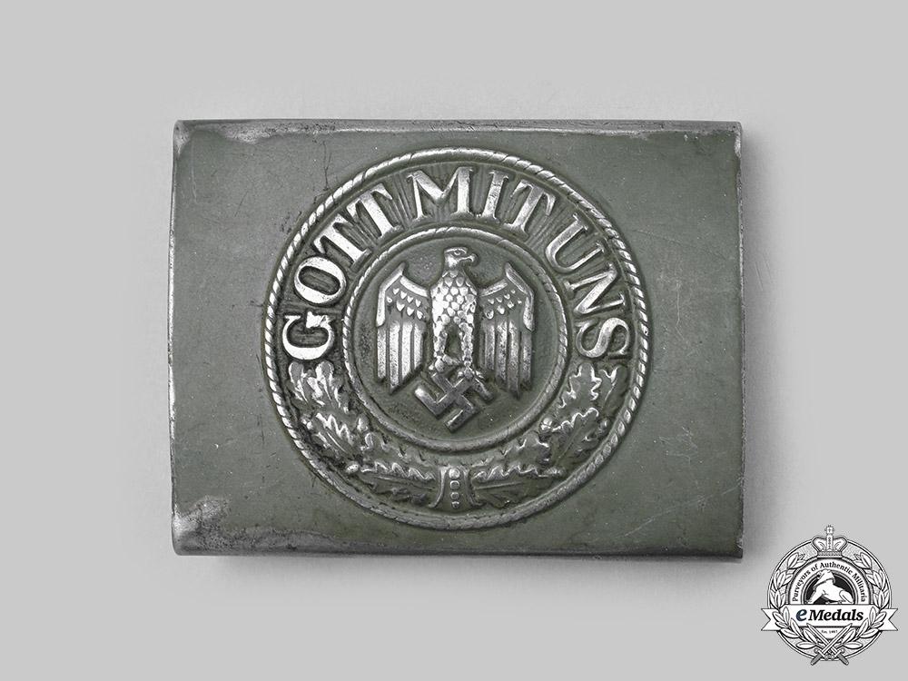Germany, Heer. A Heer EM/NCO's Belt Buckle, by Dransfeld Co.