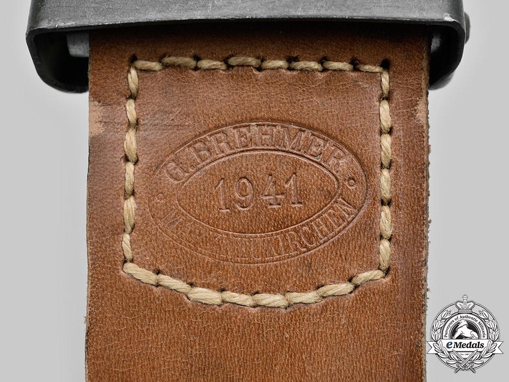 Germany, Heer. A Heer EM/NCO's Belt Buckle, by Gustav Brehmer