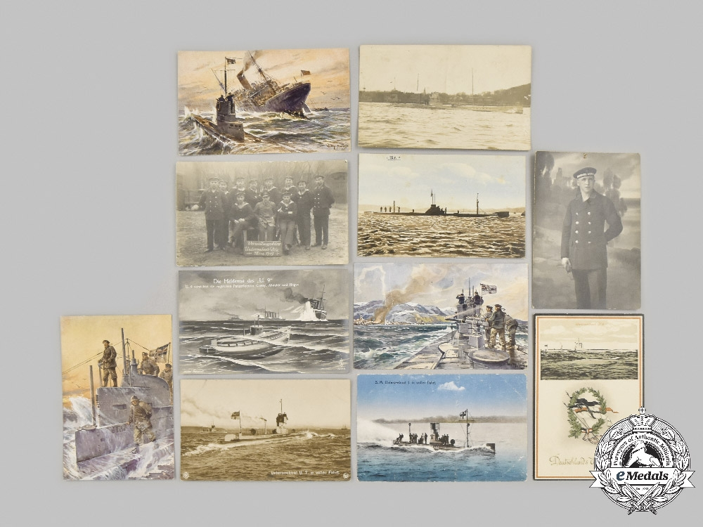 Germany, Imperial. A Lot of Imperial Navy Photos and Postcards