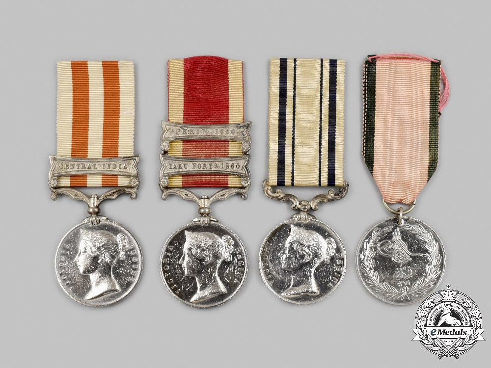United Kingdom. An Important Group of Awards to the Colonel of the 86th Foot , Sir John Michel, G.C.B.