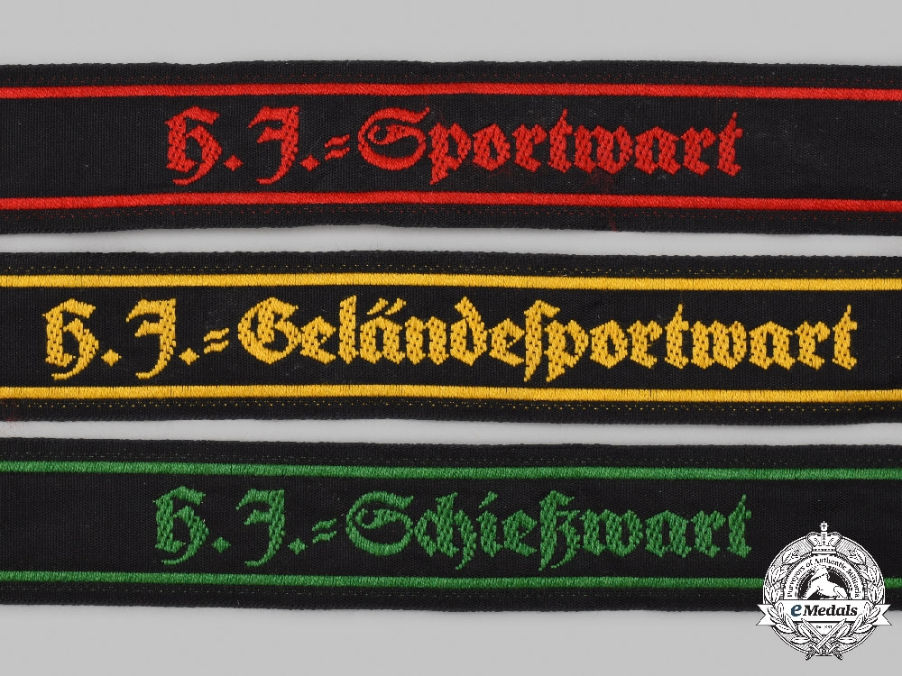 Germany, HJ. A Lot of Sports Official Sleeve Insignia