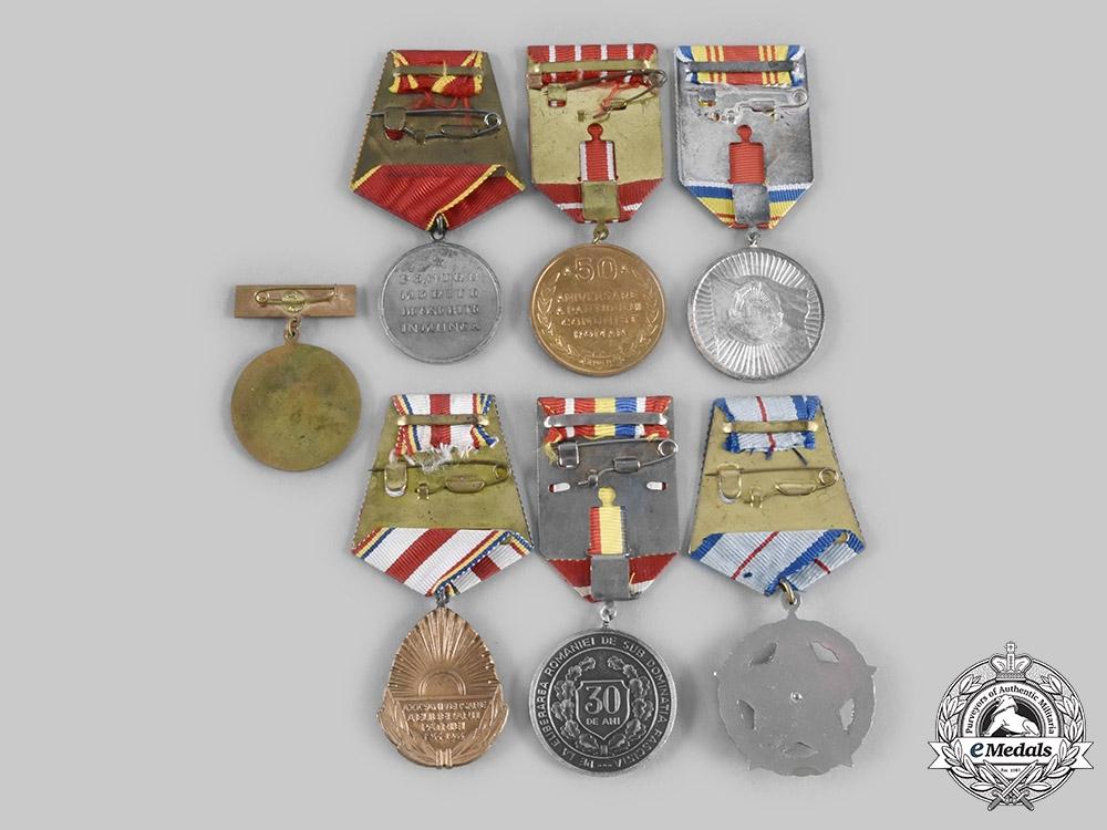 Romania, People's Republic. A Lot of Seven Awards