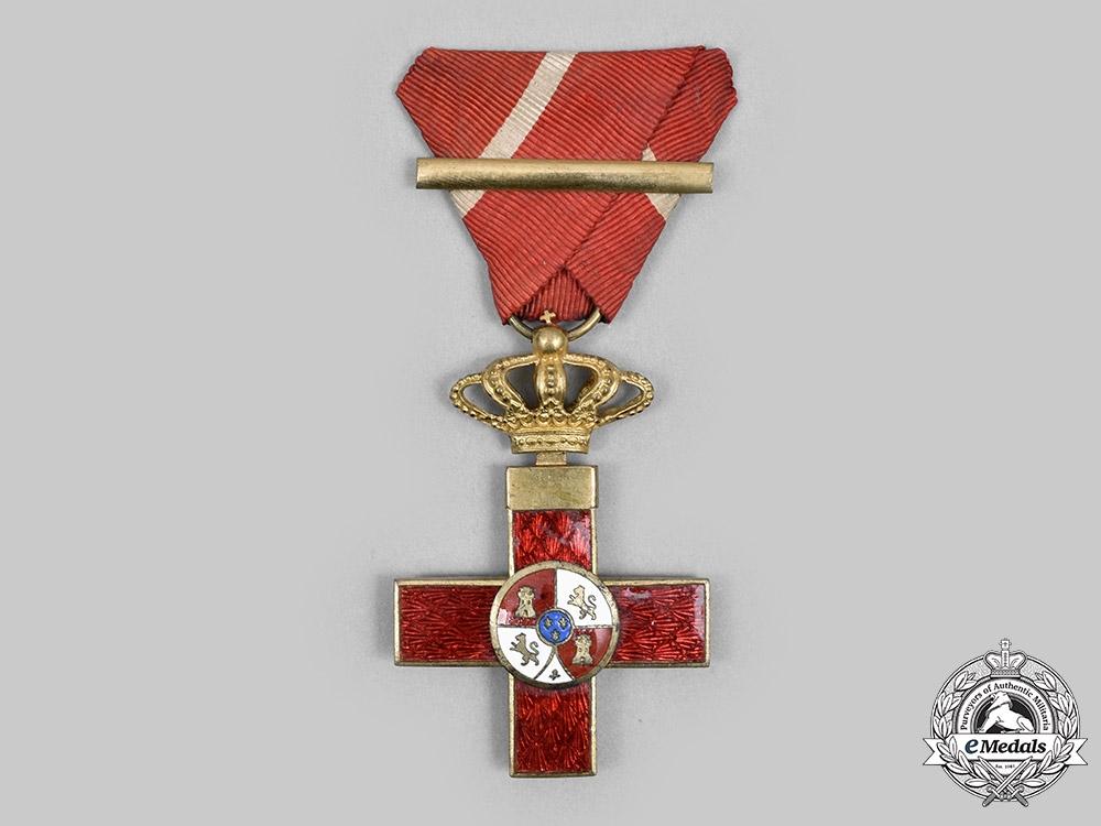 Spain, Kingdom. An Order of Military Merit, I Class Cross (Red Distinction), c.1920