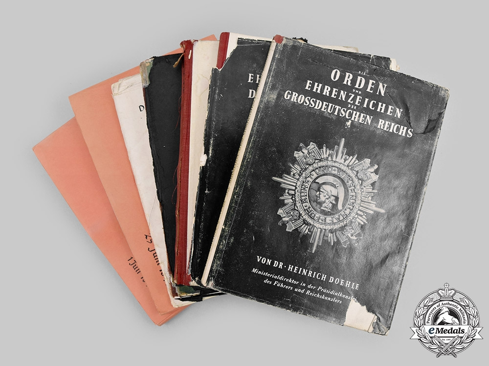 Germany, Third Reich. A Lot of Wartime and Postwar Reference Books