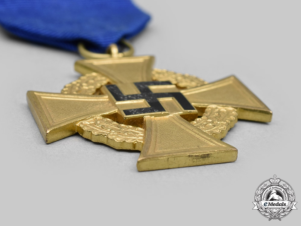 Germany, Third Reich. A Civil Service 40-Year Long Faithful Service Medal