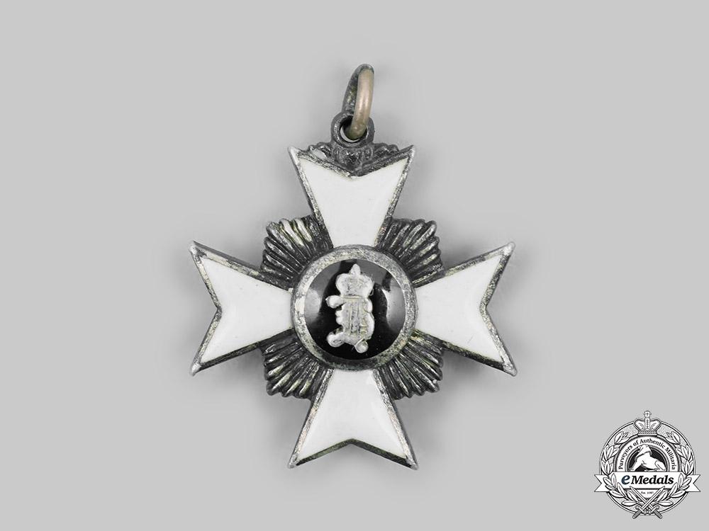 Reuss, County. A Princely Honour Cross, Miniature II Class Knight, c.1910