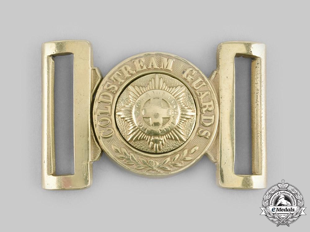 United Kingdom. A Coldstream Guards Belt Buckle, c.1890