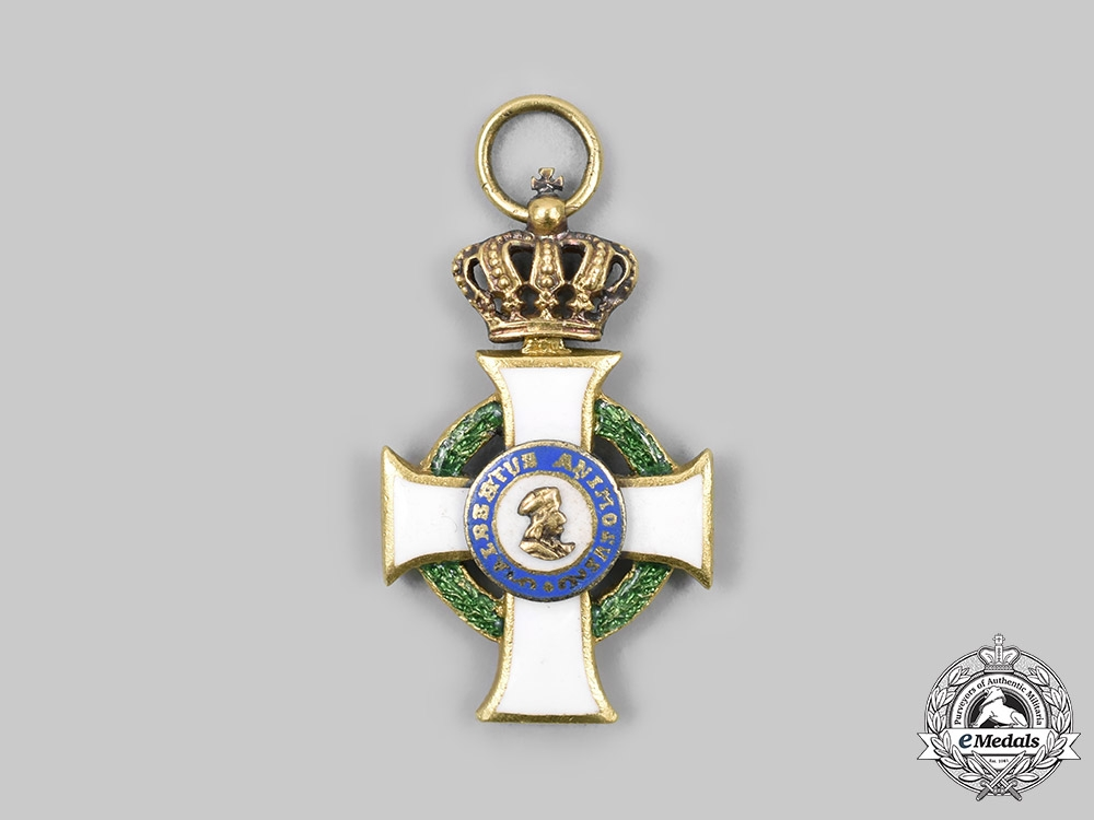 Saxony, Kingdom. An Albert Order, Civil Division, Miniature, c. 1900
