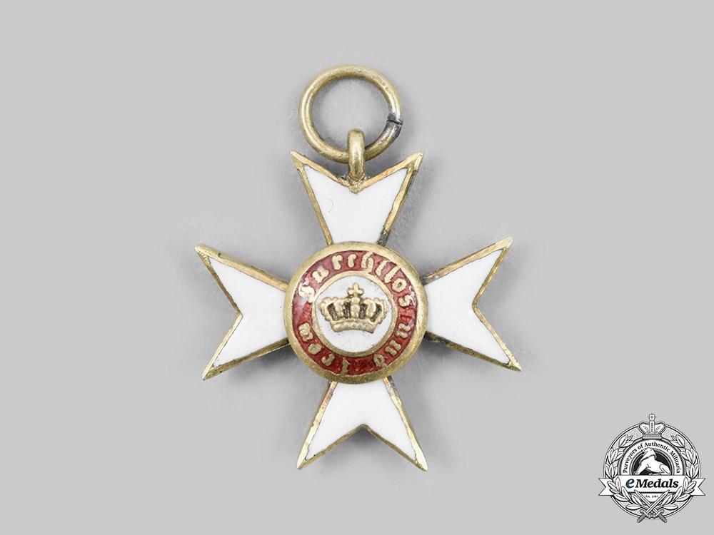 Wurttemberg, Kingdom. An Order of the Wurttemberg Crown, Miniature, c. 1900