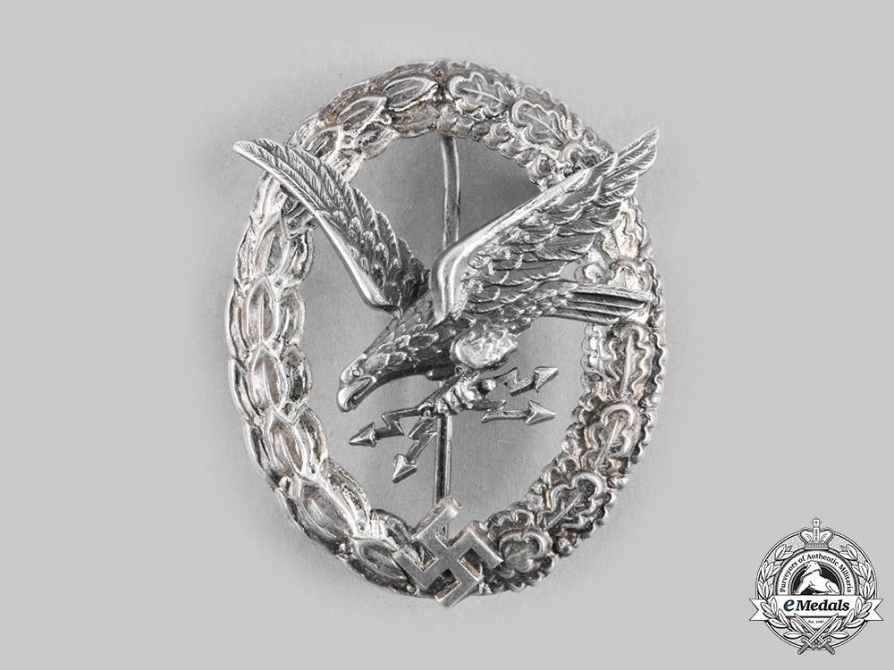 Germany, Luftwaffe. A Radio Operator and Air Gunner Badge, by F.W. Assmann & Söhne
