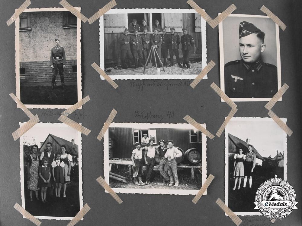 Germany, Luftwaffe. The Estate of Crimea-Stationed Flak Obergefreiter Rupert Sirch (EK2)