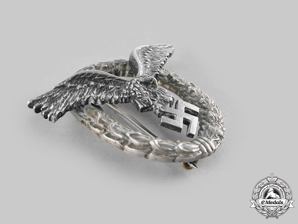 Germany, Luftwaffe. A Pilot's Badge, by C.E. Juncker