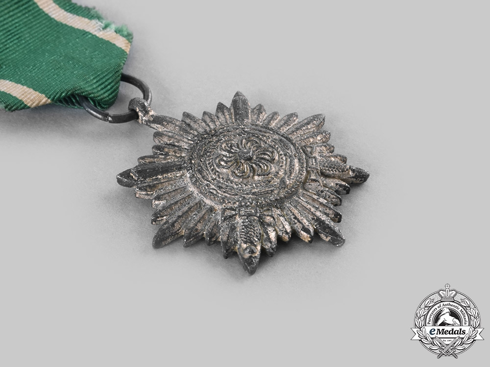 Germany, Wehrmacht. A Pair of Eastern People's Medals