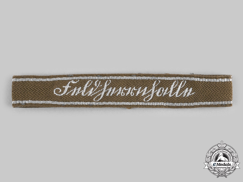 Germany, SA. A Feldherrnhalle Officer's Cuff Title